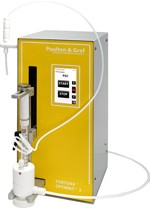 OPTIMAT® 3 Dispensing Station available from Poulten & Graf | Superior Laboratory Products