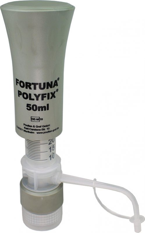 FORTUNA® POLYFIX® Dispenser available from Poulten & Graf | Superior Laboratory Products