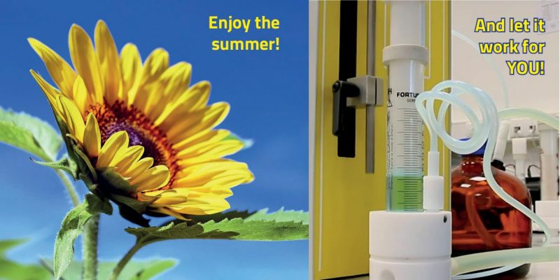 Summer is here! Time for a new dosing colleague