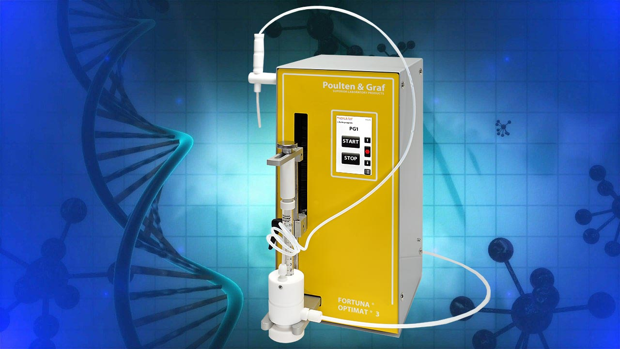 Using the FORTUNA OPTIMAT dosing station for vaccine production is the best choice